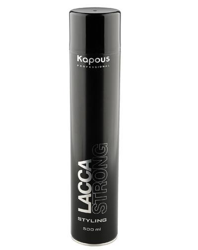 Лак аэрозольный для волос сильной фиксации 500 мл (Kapous Professional, Средства для укладки) цена