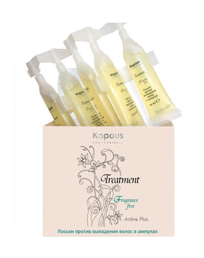 Лосьон против выпадения волос в ампулах 5х10 мл (Kapous Professional, Treatment)