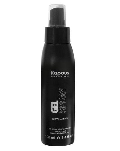 Купить Kapous Professional Гель-спрей для волос сильной фиксации 100 мл (Kapous Professional, Средства для укладки), Италия