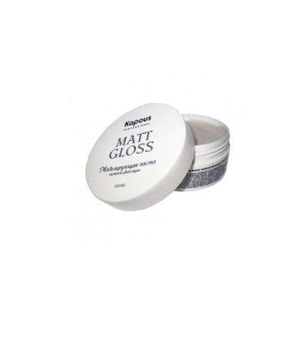 Моделирующая паста для волос сильной фиксации, 100 мл (Kapous Professional, Средства для укладки) kapous professional matt wax матовый воск для укладки волос сильной фиксации 100 мл