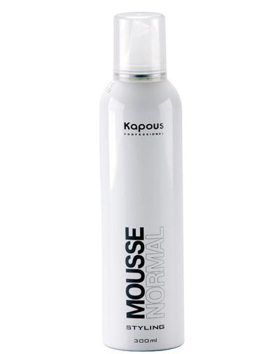 Мусс для укладки волос нормальной фиксации 400 мл (Kapous Professional, Средства для укладки)
