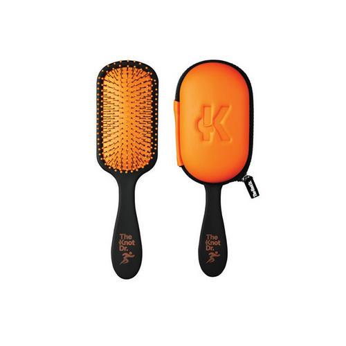 The Knot Dr. Расческа Pro Sport Tangerine в чехле, оранжевый (The Dr., Sport)