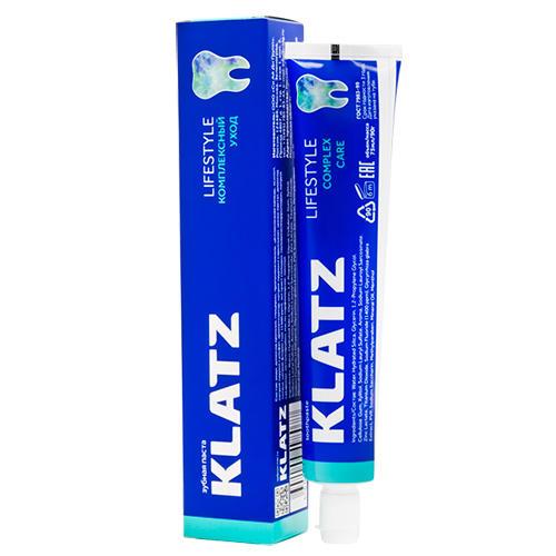Купить Klatz Зубная паста Комплексный уход, 75 мл (Klatz, Lifestyle), Россия
