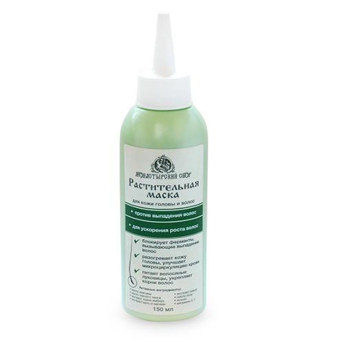 Маска для роста и против выпадения волос, 150 мл (Kleona, Монастырский сбор) витамины для волос от выпадения и для роста хорошие отзывы недорогие