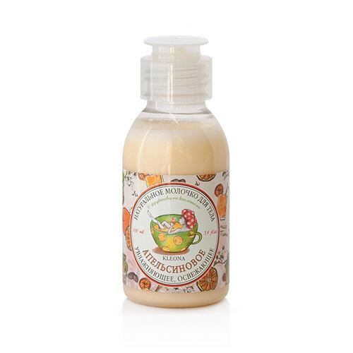 Молочко для тела Апельсиновое, 100 мл (Kleona, Для тела)