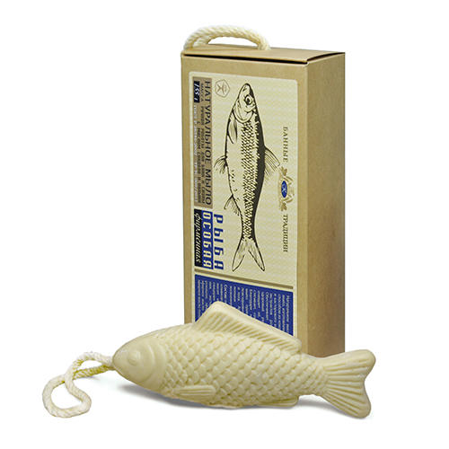 Мыло подарочное Рыба, 155 мл (Kleona, Для душа, ванной и SPAпроцедур)