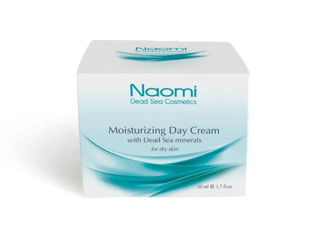 Naomi Крем увлажняющий для лица с минералами Мертвого моря для сухой кожи 50 мл (Naomi, Уход за лицом)