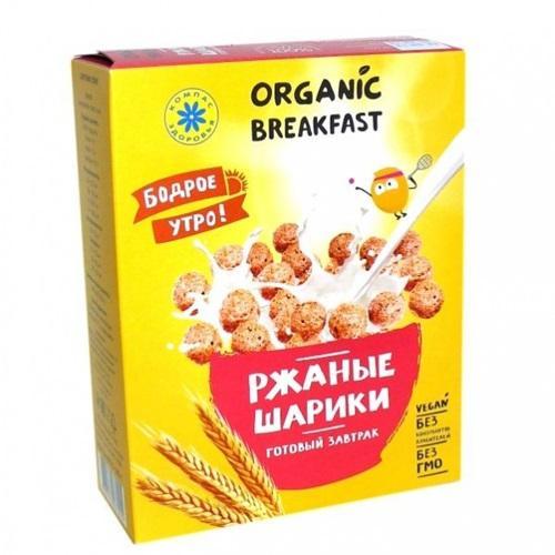 Сухой завтрак Ржаные шарики 100 г (Компас здоровья, Разное)