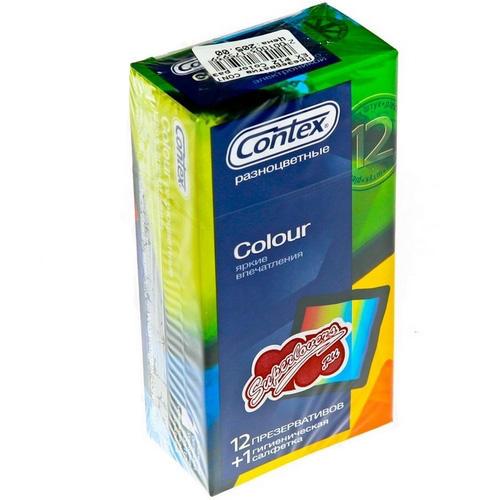 Контекс презервативы colour №12 (Презервативы)