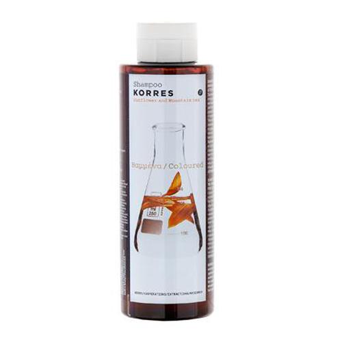 Шампунь для окрашенных волос с подсолнухом и гаультерией 250 мл (Korres Уход за волосами)