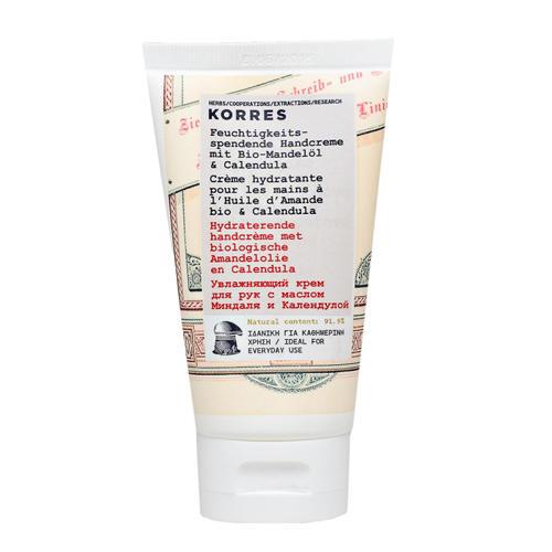 Увлажняющий крем для рук с маслом миндаля и календулой 75 мл (Korres Уход за руками)