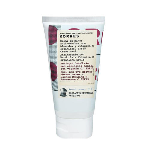 Крем для рук против темных пятен с маслом миндаля и витамином С, 75 мл (Korres, Korres Уход за руками) эффективный отбеливающий крем от пигментных пятен