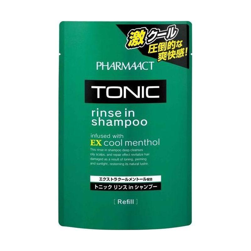 Kumano cosmetics Шампунь тонизирующий 2в1 д/мужчин Pharmaact 350, см/б мл (Kumano cosmetics, Шампуни для волос)
