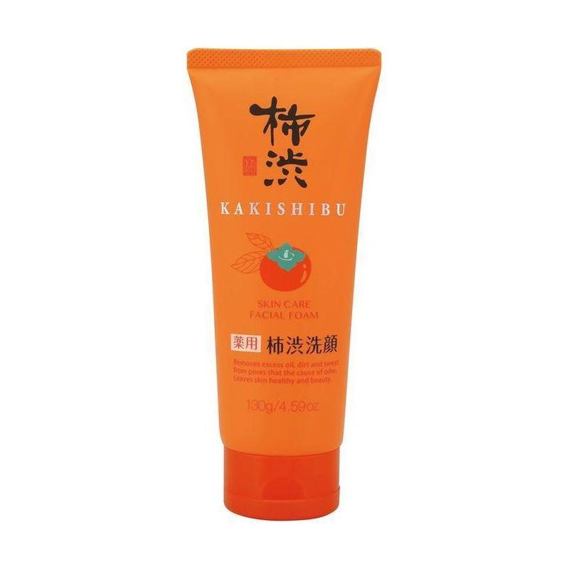 Купить Kumano cosmetics Пенка д/умывания очищающая с экстрактом хурмы 130гр (Kumano cosmetics, Косметика для умывания), Япония