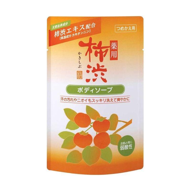 Купить Kumano cosmetics Жидкое мыло д/тела антиб KAKiSHIBU хурма и гиалуроновая кислота 350мл зап (Kumano cosmetics, Жидкое мыло для тела), Япония