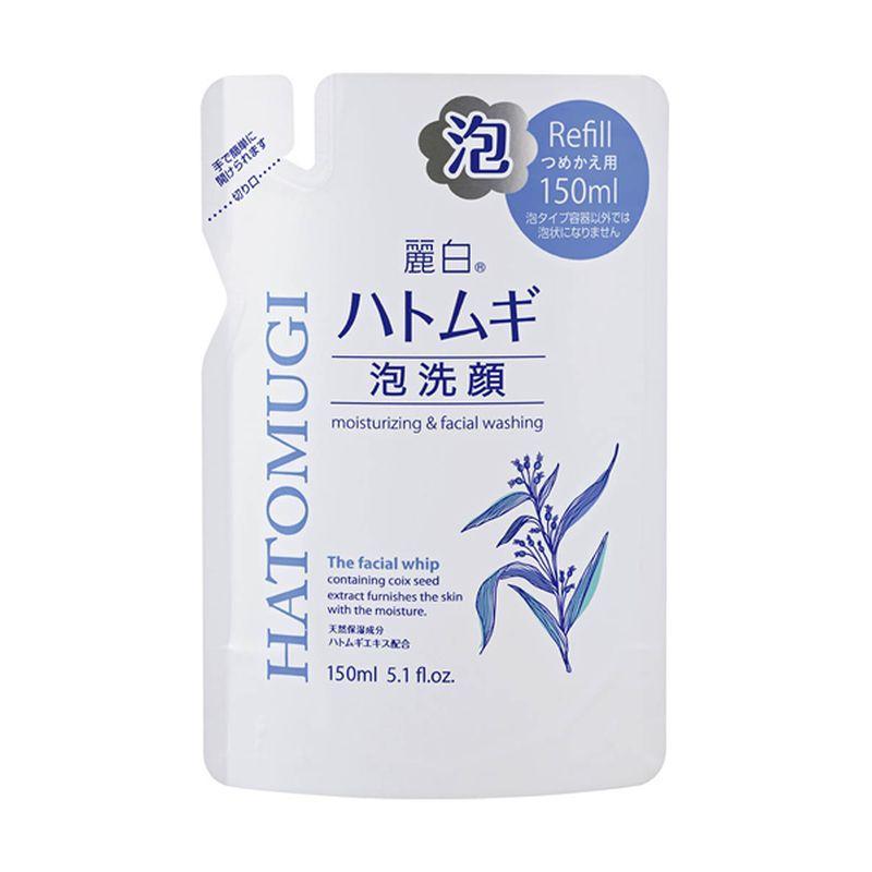 Купить Kumano cosmetics Пенка для умывания Urarashiro HATOMUGI, (сменная упаковка) 150 мл (Kumano cosmetics, Косметика для умывания), Япония