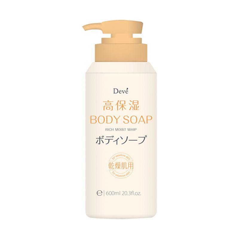 Купить Kumano Cosmetics Жидкое мыло для тела увлажняющее Deve, 600 мл 1/16 (Kumano Cosmetics, Жидкое мыло для тела)