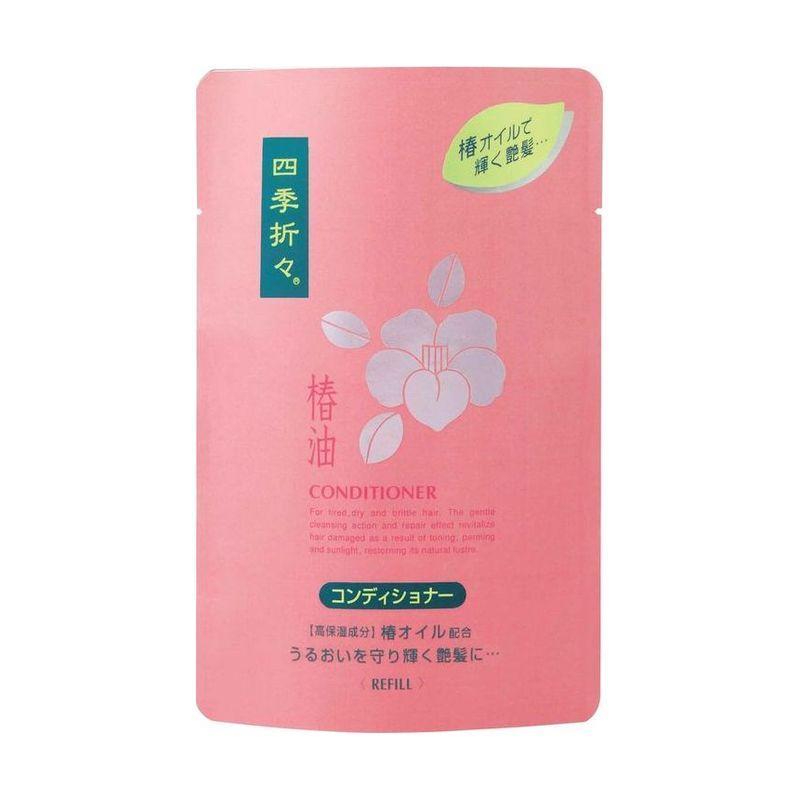 Kumano cosmetics Кондиционер д/сух волос с маслом камелии, с/б 450 (Kumano cosmetics, Кондиционеры для волос)