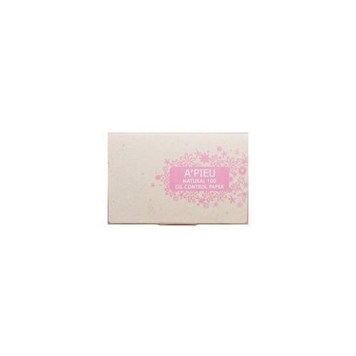 Матирующие салфетки Oil Control Paper 100 шт (Apieu, Для лица) матирующие салфетки для лица innisfree beauty tool clear oil control film