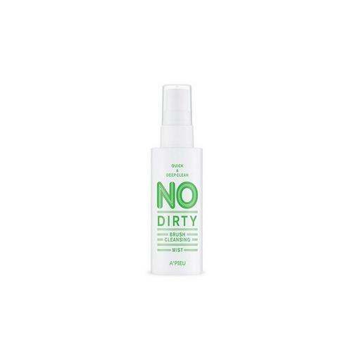 Спрей для очищения кистей No Dirty Brush Cleansing Mist 80 мл (Apieu, Аксессуары) маскапленка очищающая для носа 50 мл apieu apieu