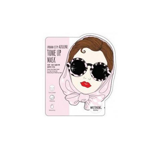 Купить Baviphat Маска для лица тканевая Urban City Azulene Tone-up Mask Whitening 25 гр (Baviphat, Для лица), Южная Корея