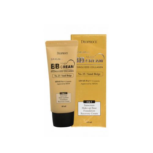Крем ББ Magic с коллагеном и гиалуроновой кислотой 23 SPF50 PA 60 мл (Deoproce, CREAM) цена