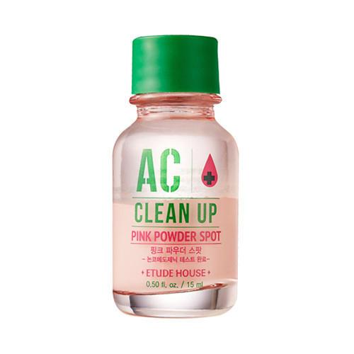 Точечное средство для борьбы с акне AC Clean Up Pink Powder Spot, 15 мл (Etude House, Ac Clean Up) цена