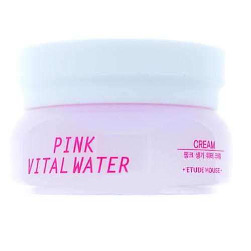 Крем для лица витаминный увлажняющий Et.Pink Vital Water Cream, 10 мл (Etude House, Pink Vital) маска etude house pink vital water wash off pack 100 мл