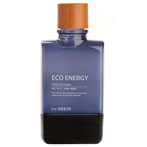 Эмульсия мужская освежающая Fresh Emulsion, 150 мл (The Saem, Eco Energy) эмульсия увлажняющая hydrating emulsion 150 мл the saem dewy love