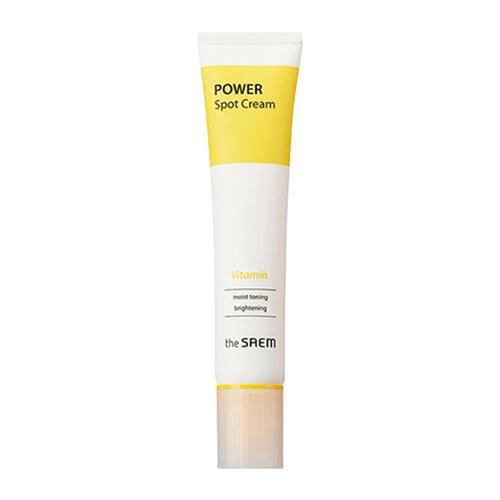 Крем точечный витаминный Vitamin Cream, 40 мл (The Saem, Power Spot) крем для лица защитный 50 г the saem