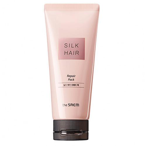 Маска для поврежденных волос Repair Pack, 150 мл (The Saem, Silk Hair) silk base closure virgin hair body wave 100