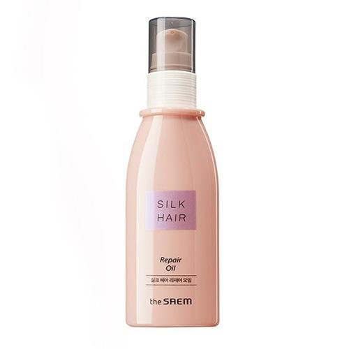 Масло для поврежденных волос Repair Oil, 80 мл (The Saem, Silk Hair) rich интенсивная сыворотка масло для шелковистости и блеска волос без смывания 60 мл