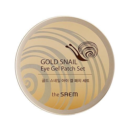 Набор патчей с экстрактом муцина улитки для век Gold Snail Eye Gel Patch Set, 60 шт (The Saem, Gold Snail) недорого