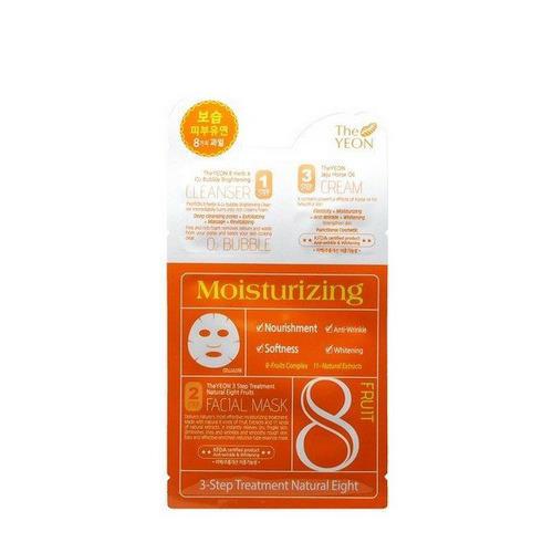 Трехшаговая маска с фруктовым комплексом 3 Step Treatment Natural Eight Fruit 1мл2мл25мл (The Yeon) все цены