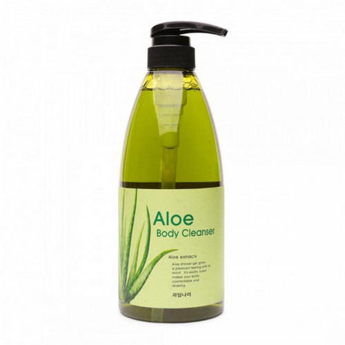 цена на Гель для душа алоэ Kwailnara Aloe Body Cleanser 740гр (Welcos, Kwailnara)