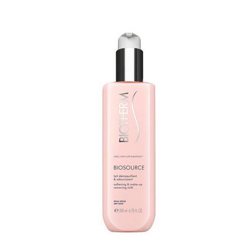 Молочко для снятия макияжа для сухой кожи 200 мл (Biotherm, Biosource) biotherm biosource тонизирующий лосьон для сухой кожи biosource тонизирующий лосьон для сухой кожи