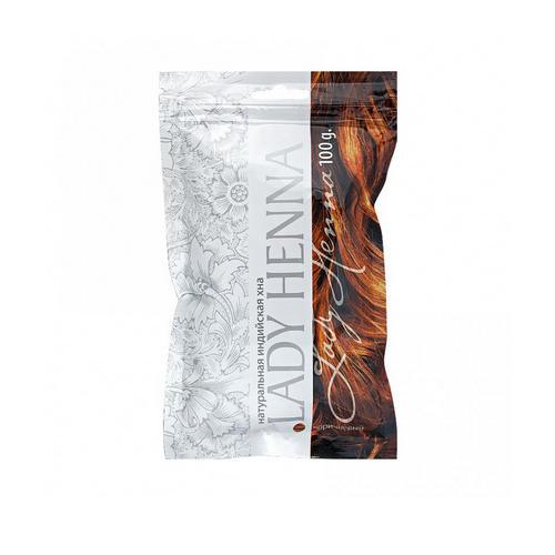 Lady Henna Натуральная хна для волос Коричневая, 100 мл (Lady Henna, Окрашивание)