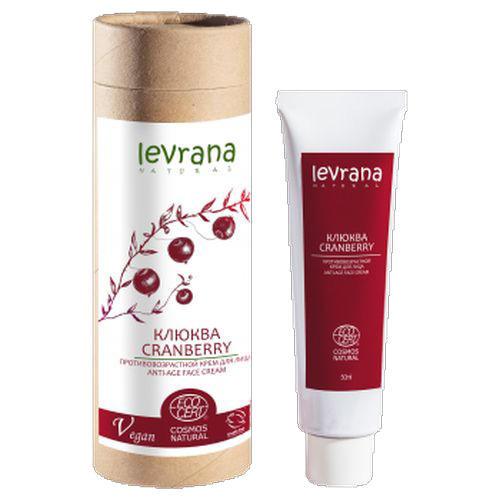 Купить Levrana Крем для лица Клюква (40+, антивозрастной), 50 мл (Levrana, Для лица), Россия