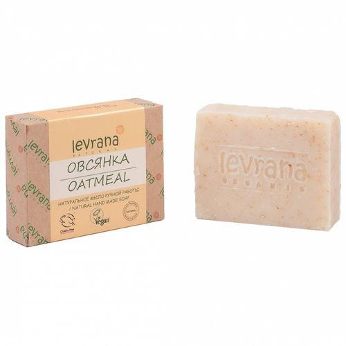 Натуральное мыло ручной работы Овсянка, 100 г (Levrana, Для тела) маска для лица levrana levrana le034lwbrse3
