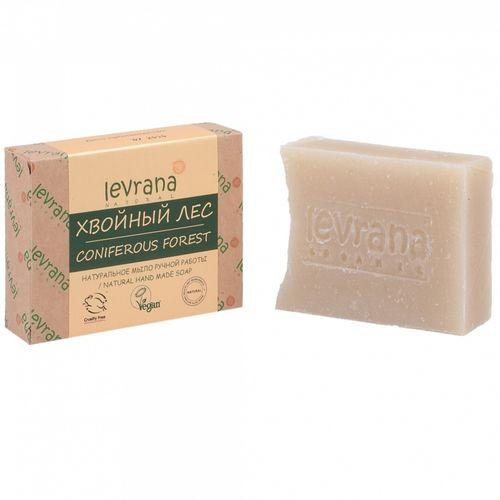 Купить Levrana Натуральное мыло ручной работы Хвойный лес , 100 г (Levrana, Для тела), Россия