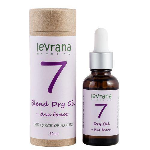 Сухое масло 7 для волос, 30 мл (Levrana, Для волос)