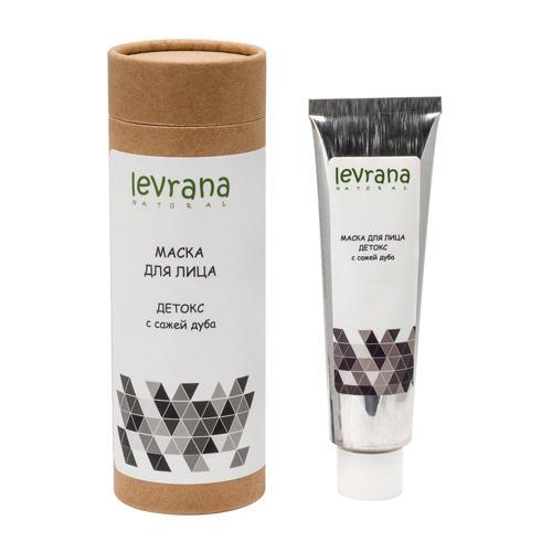 Купить Levrana Маска для лица Детокс с сажей японского дуба, 50 мл (Levrana, Для лица), Россия