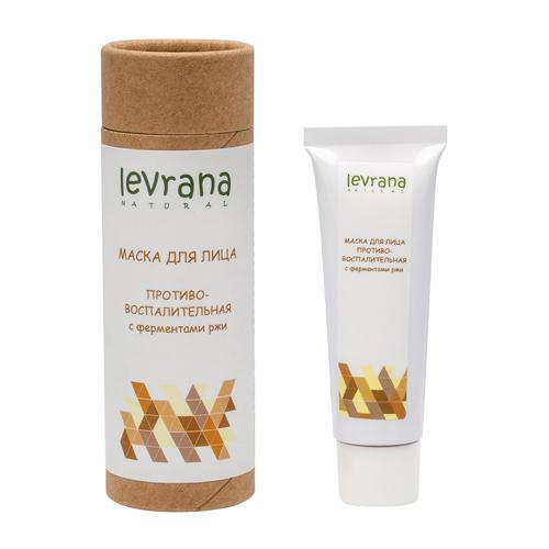 Купить Levrana Маска для лица Противовоспалительная , с ферментами ржи, 30 мл (Levrana, Для лица), Россия