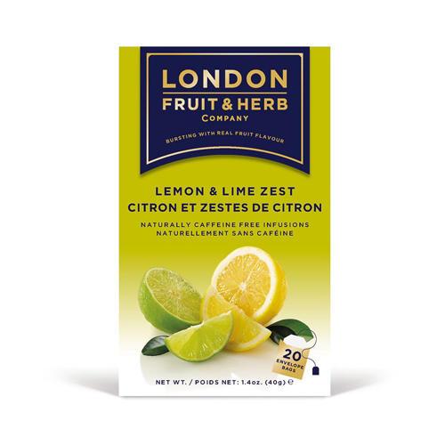 """London Fruit & Herb Company Напиток """"Лимон и лайм"""", 20 пакетиков ()"""