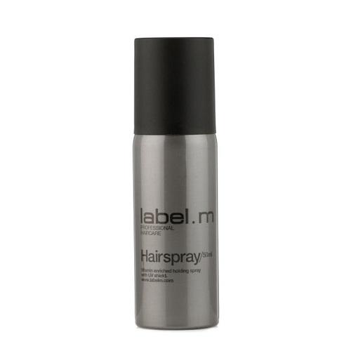 Label.m Лак для волос 50 мл (Label.m, Weightless Hairspray) healthy sexy hair soy touchable weightless hairspray лак подвижной фиксации 310 мл