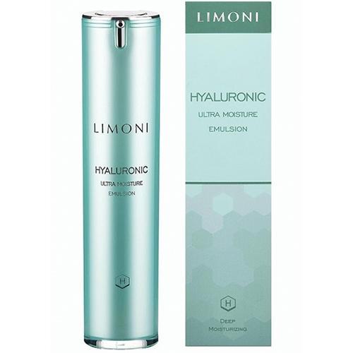 Limoni Ультраувлажняющая эмульсия для лица с гиалуроновой кислотой 50 мл (Limoni, Hyaluronic)