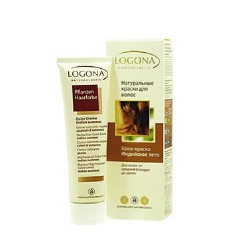 Кремкраска для волос Индийское лето 150 мл (Logona, Color hair)