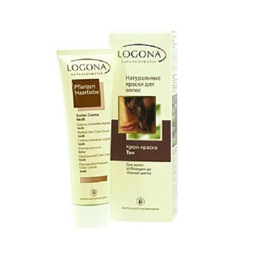Кремкраска для волос Тик 150 мл (Logona, Color hair)
