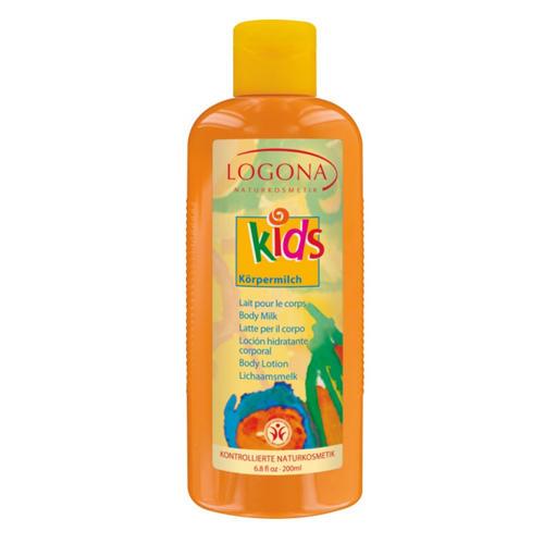 Logona Детское молочко для тела 200 мл (For kids)