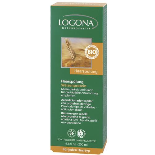 Logona Кондиционер для волос с протеинами пшеницы 200 мл (For hair)